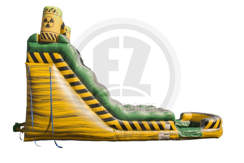 18 Ft Biohazard Falls Water Slide-WS1146-EZ Inflatables
