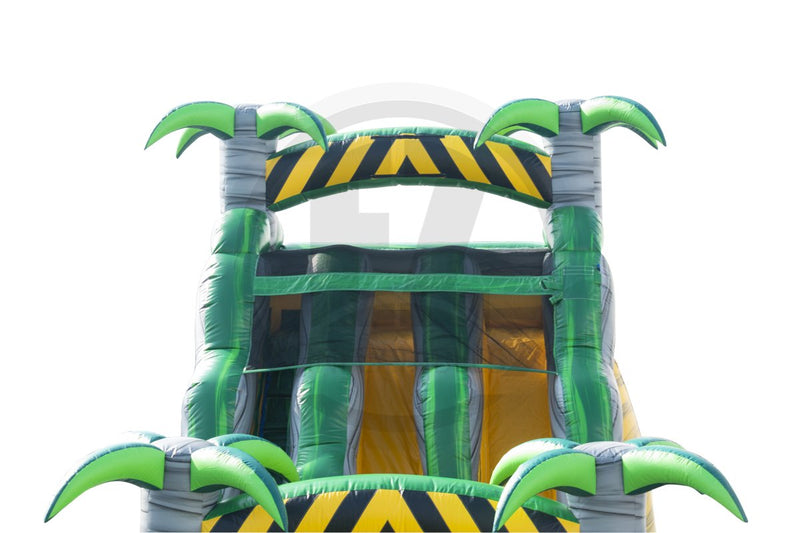 18 Ft Desert Palms Wet & Dry Slide-WS1269-EZ Inflatables