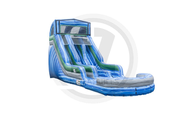 18 Ft Module Blue Crush Dual Lane Wet Dry-WS1254-EZ Inflatables
