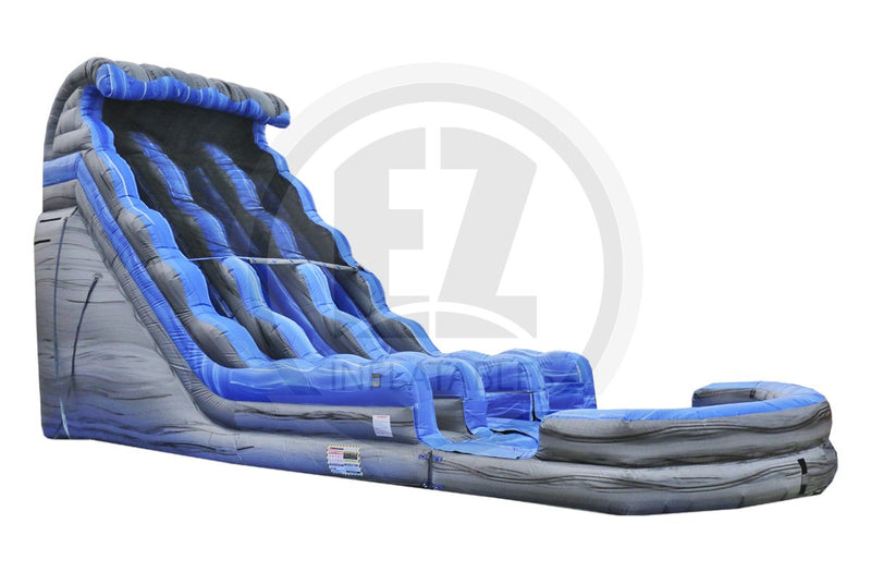 18 Ft Rocky Mountain Falls Dual Lane Water Slide-WS1181-EZ Inflatables (1361776345130)