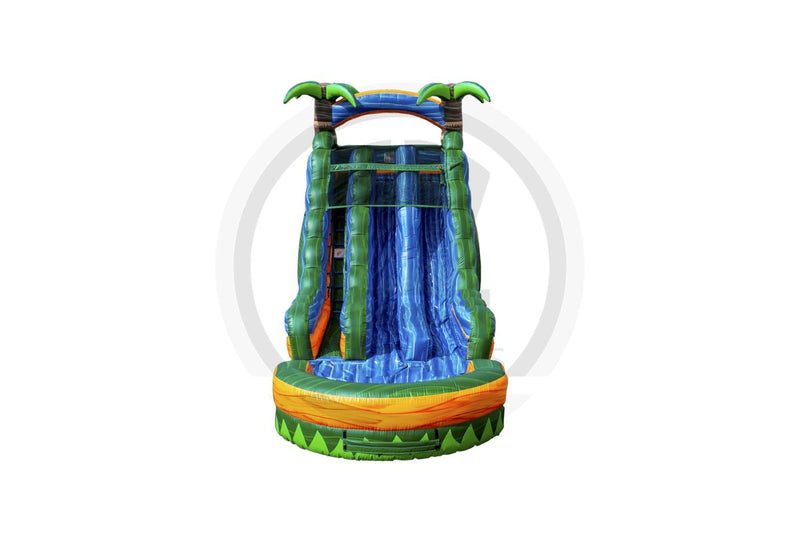 18 Ft Tropical Emerald Rush DL-WS1385-EZ Inflatables