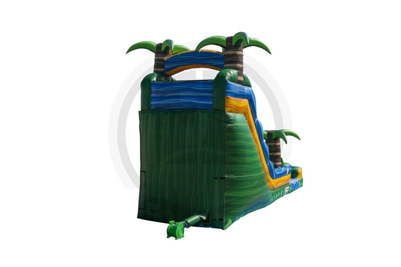 18 Ft Tropical Emerald Rush Single Lane-WS1352-EZ Inflatables
