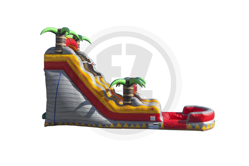 18 Ft Tropical Lava Rush Single Lane-WS1355-EZ Inflatables