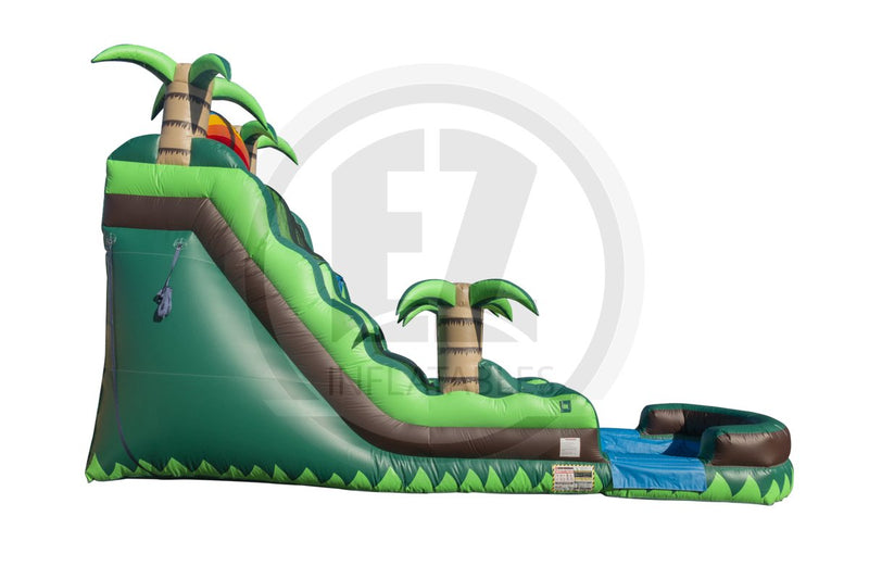 18 Ft Tropical Water Slide-WS169-EZ Inflatables (1402222149674)