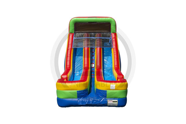 18 Ft Ultimate Rainbow Wet & Dry Slide -WS1348_IP-EZ Inflatables