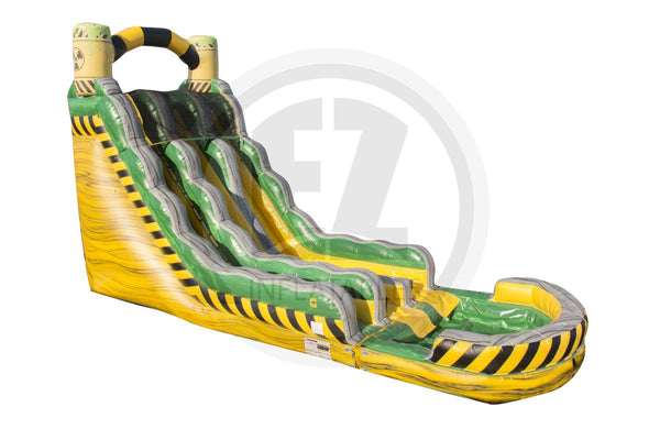 22 Ft Biohazard Falls Dual Lane-WS1112-EZ Inflatables