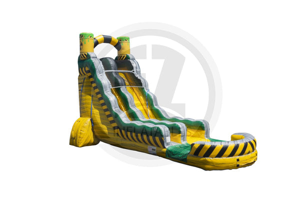 22 Ft Biohazard Falls Single Lane-WS1247-EZ Inflatables