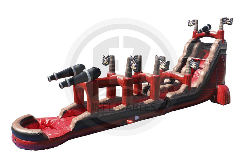 22 Ft Caribbean Pirate Ship + Slip & Slide-WS1099-EZ Inflatables (1394954141738)