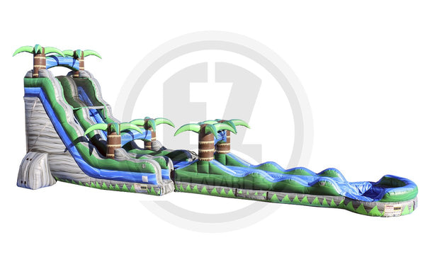 22 Ft Cascade Crush with Slip & Slide-WS1044-EZ Inflatables (1394953453610)