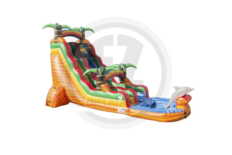 22 Ft Dolphins Paradise Single Lane-WS1223-EZ Inflatables (1402221658154)
