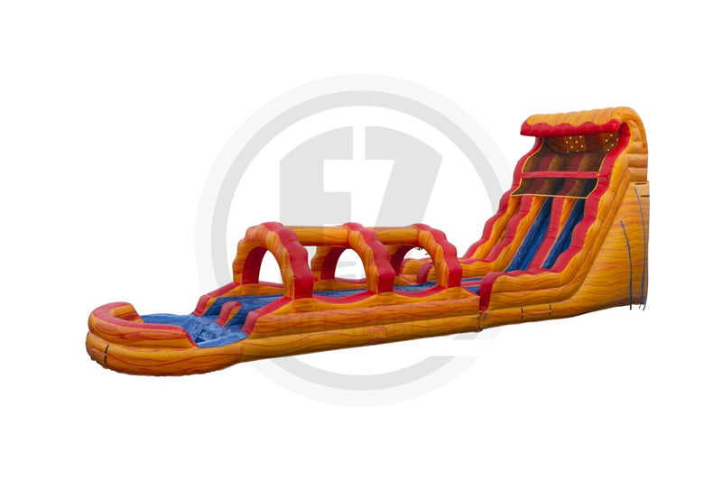 22 Ft Fire & Ice + Slip & Slide DL-WS1351-EZ Inflatables