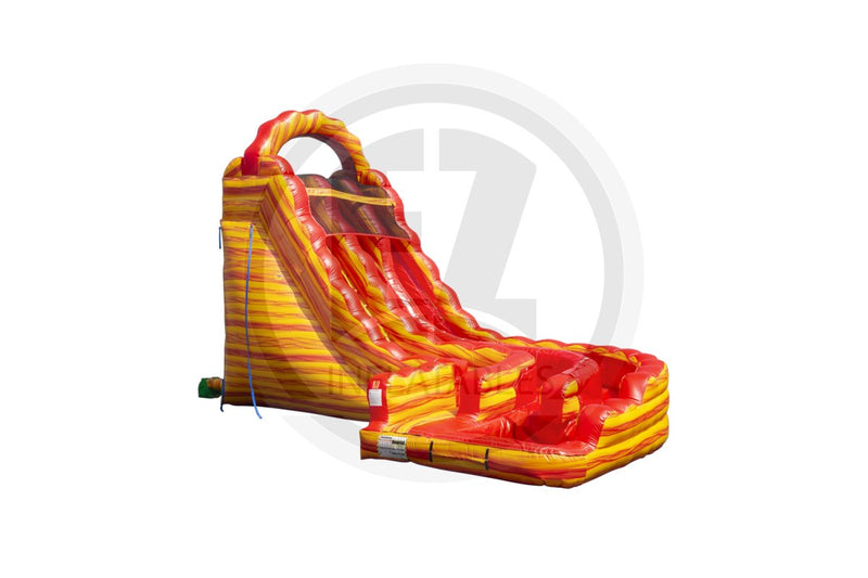22 Ft Lava Falls Curvy Waterslide-WS1230-EZ Inflatables