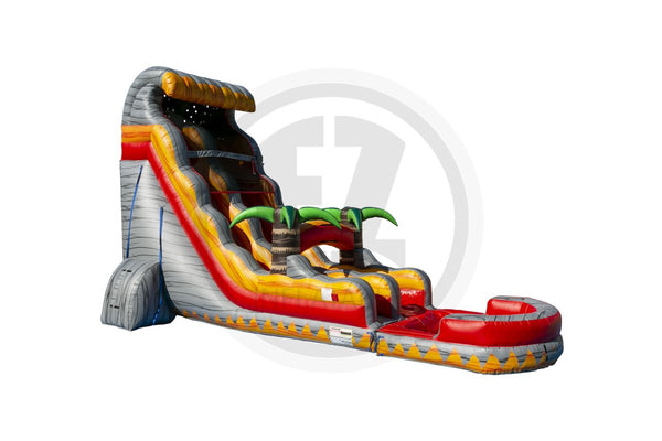 22 Ft Lava Waves Water Slide-WS1354-EZ Inflatables