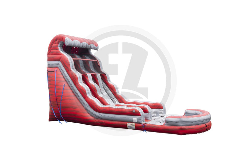 22 Ft Liquid Hot Magma Dual Lane-WS1265-EZ Inflatables