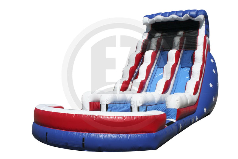 22 Ft Stars & Stripes Water-WS1336-IP-EZ Inflatables