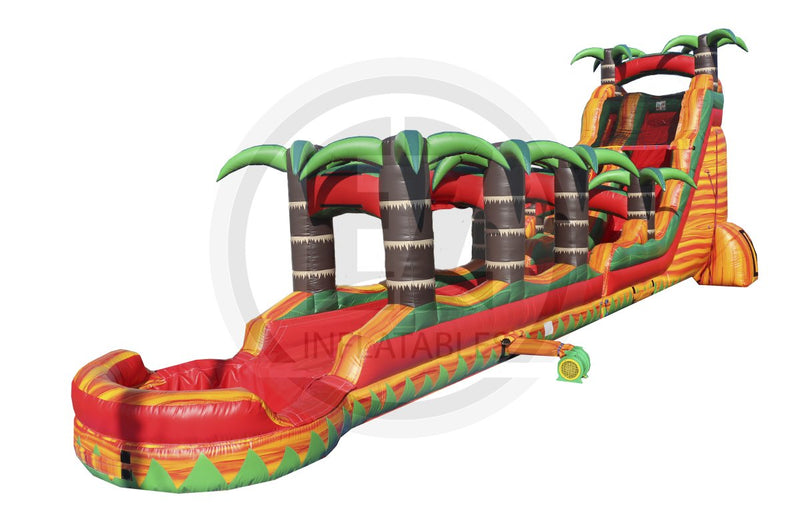 22 Ft Tropical Fiesta with Slip n Slide-WS1076-EZ Inflatables
