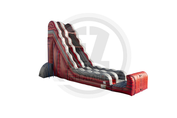 24 Ft Red Rock Falls Dry Slide-S1016-EZ Inflatables
