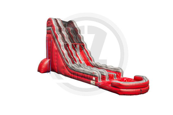 24 Ft Red Rock Falls Dual Lane-WS1103-EZ Inflatables (1362066440234)