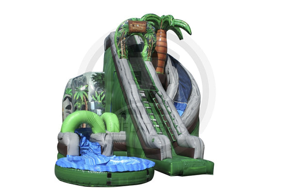 Coconut Falls Water Slide-WS349-EZ Inflatables (1362067161130)