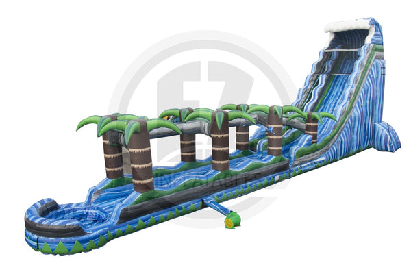 27 Ft Blue Crush Tsunami with Slip & Slide-WS1135-EZ Inflatables (1443960881194)