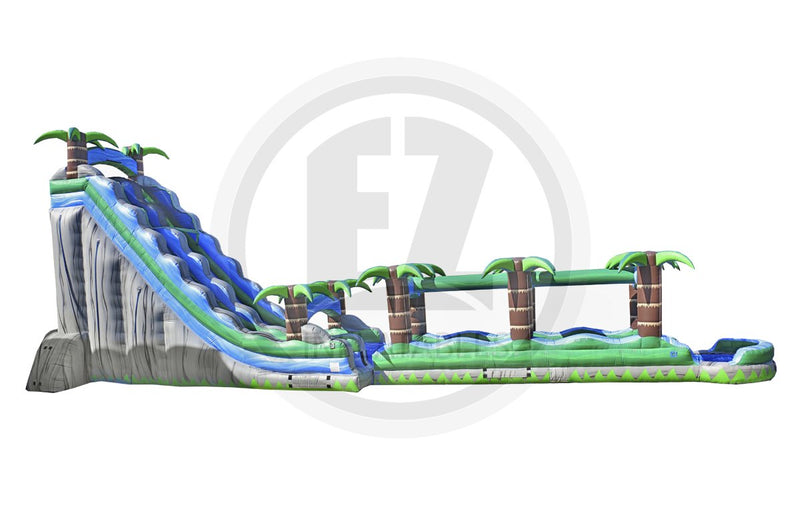 27 Ft Cascade Crush with Slip & Slide-WS1055-EZ Inflatables (1362068209706)