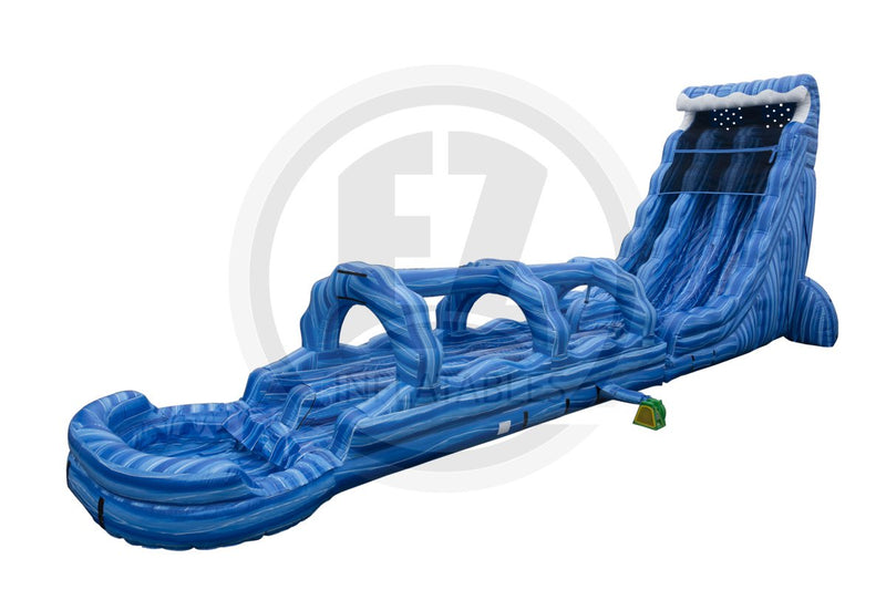 27 Ft Deep Blue Sea with Slip & Slide-WS1257-EZ Inflatables