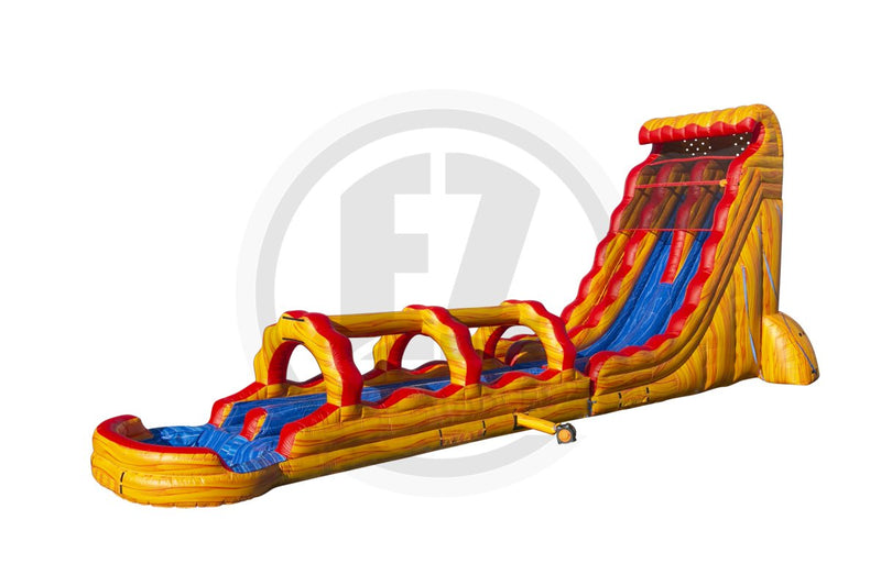 27 Ft Fire & Ice + Slip & Slide - WS1350-EZ Inflatables
