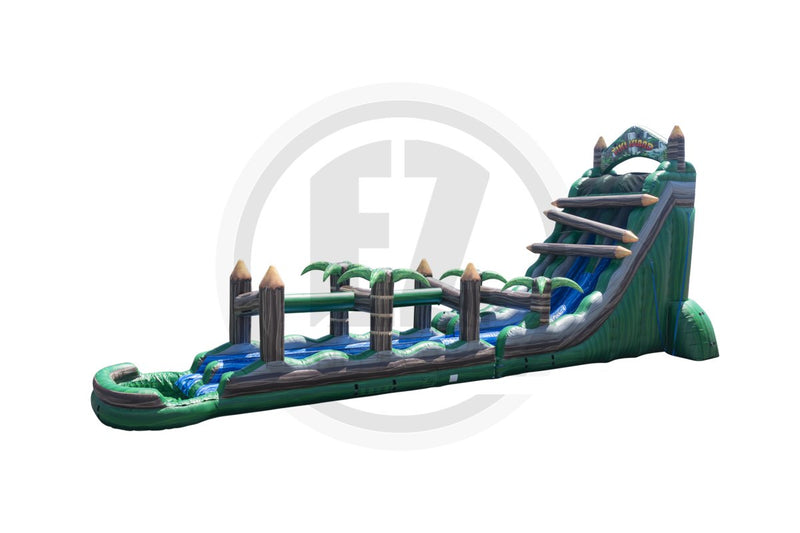 27 Ft Tiki Island Water Slide-WS1271-EZ Inflatables