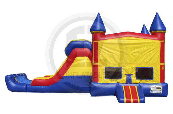 3 in 1 Primary Color Castle Module Combo-C1007-EZ Inflatables (1361254187050)