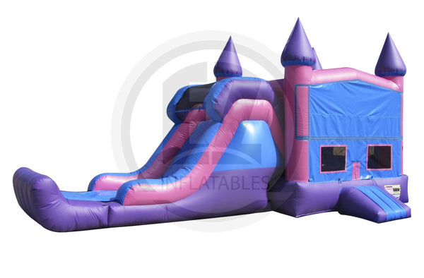 3 in 1 Princess castle module combo-C1006-EZ Inflatables (1361254252586)