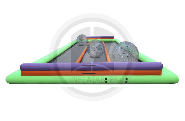 3 Lane Zorbie Track-G1003-EZ Inflatables (1387730567210)