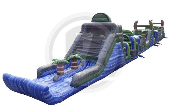 3 Pc Blue Crush Obstacle Course-I1011-EZ Inflatables (1360788488234)