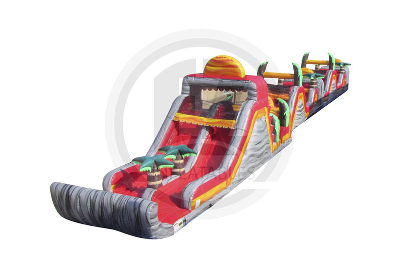 3 Pc Tropical Lava Obstacle Course-I1006-EZ Inflatables (1360788455466)