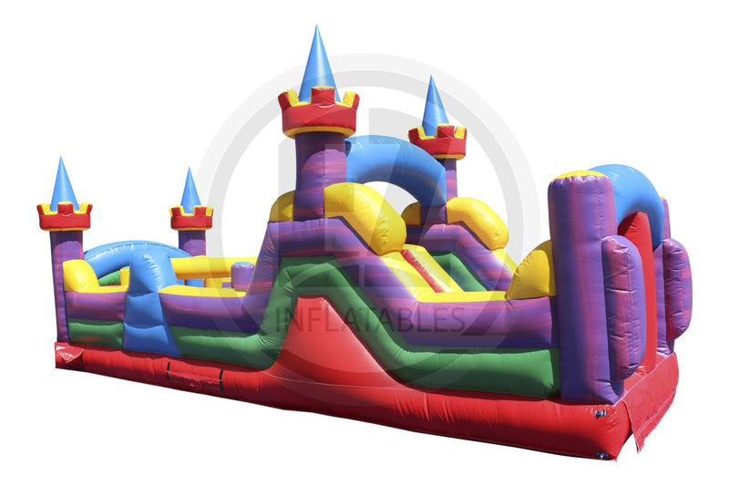 30 Ft Lucky Obstacle Course-I1061-EZ Inflatables (1431263313962)