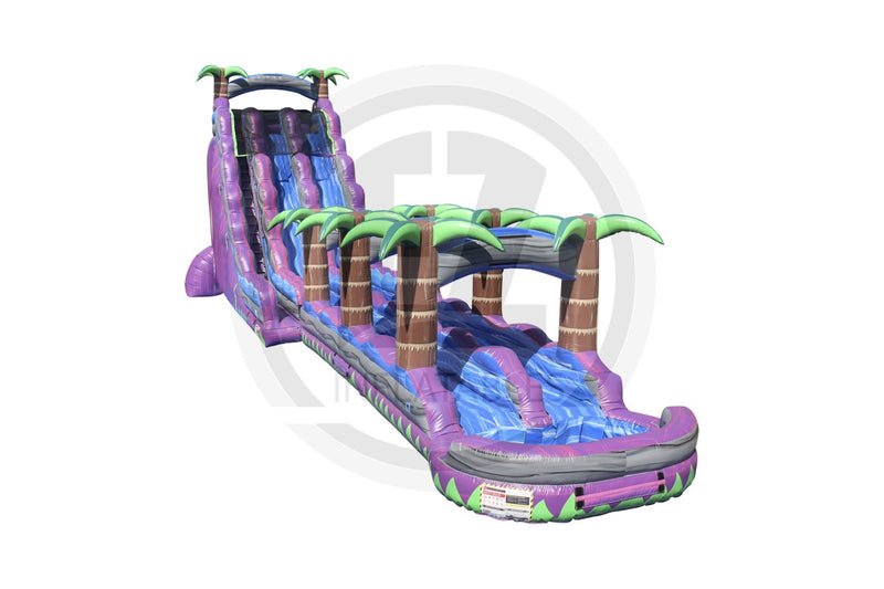 30 Ft. Purple Crush Dual Lane + Slip & Slide-WS1164-EZ Inflatables (1362078662698)
