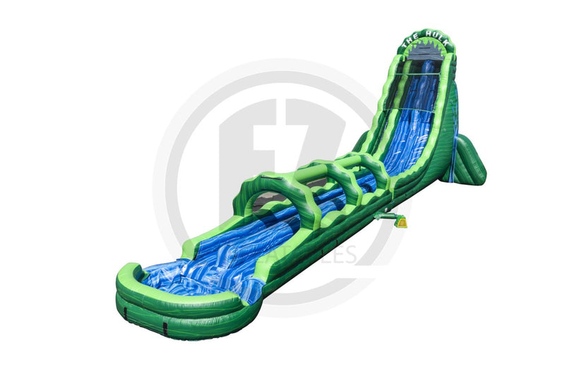32 Ft The Hulk Water Slide-WS1272-EZ Inflatables
