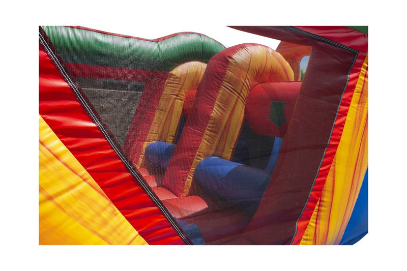 38 Ft Xtreme Run Obstacle Course-I1135-EZ Inflatables