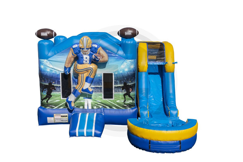 3D Football Combo IP (Inflated Pool)-C1122-IP-EZ Inflatables