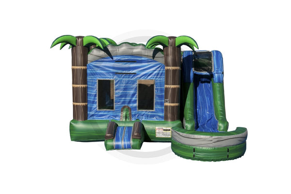 5 in 1 Blue Crush Combo-C1103-EZ Inflatables