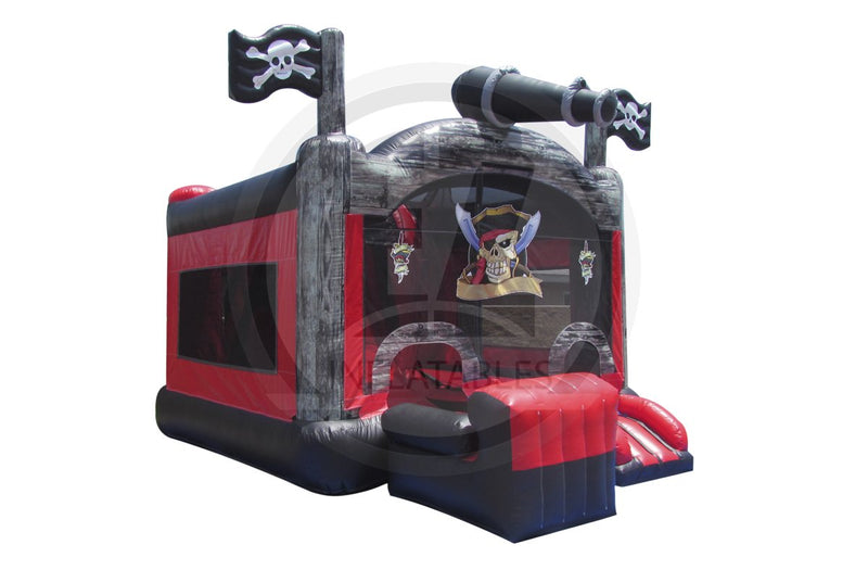 5 in 1 Pirate Island Combo-C1002-EZ Inflatables (1361126424618)