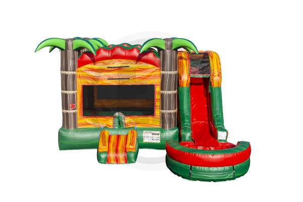5 in 1 Tropical Fiesta Breeze Combo-C1126-EZ Inflatables