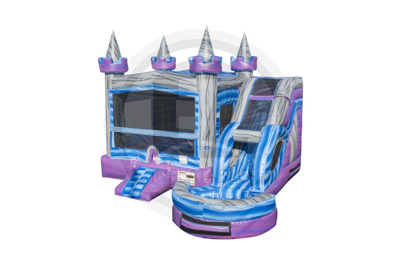 5 in1 Crystal Castle Combo-C1054-EZ Inflatables (1361127145514)