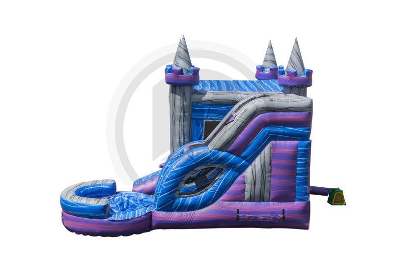 5 in1 Crystal Castle Combo-C1054-IP-EZ Inflatables