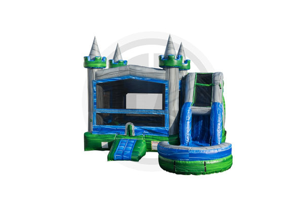 5 in1 Emerald Castle Combo-C1106-EZ Inflatables