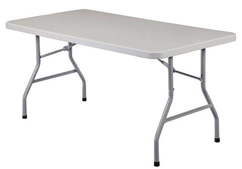 6 Ft Plastic Rectangular Table-BB1947-EZ Inflatables