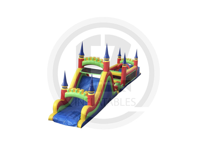 61 Ft Obstacle Course-I264-EZ Inflatables (1360788783146)