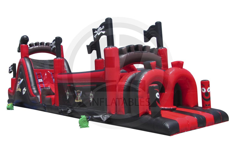 61 Ft Pirate Obstacle Course-I1000-EZ Inflatables (1360788324394)