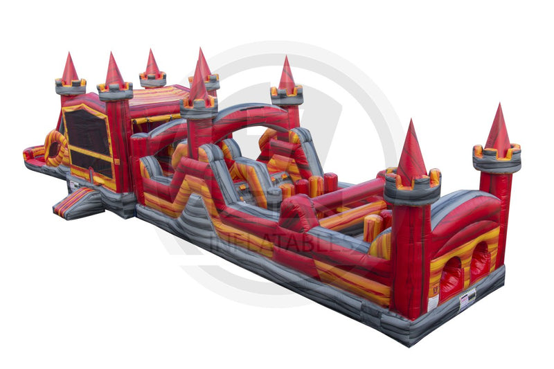 63 Ft Lucky Medieval Obstacle Course-I1058-EZ Inflatables (1418094444586)