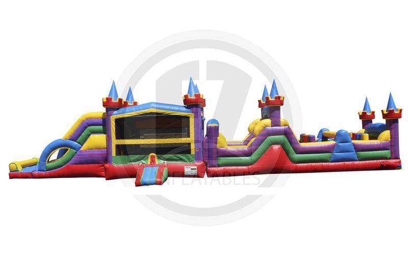 63 Ft Lucky Module Obstacle Course-I1044-EZ Inflatables (1360787865642)