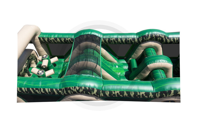 70 Ft Bootcamp Obstacle Course-I1105-EZ Inflatables